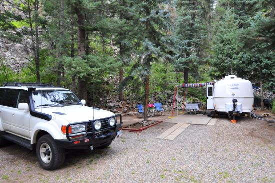 Vallecito Lake, CO: Super roomy site !