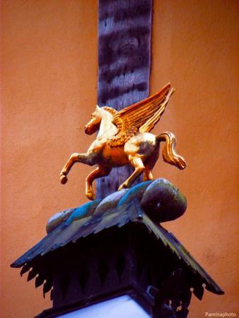 Merchant Adventurers' Hall: Pegasus