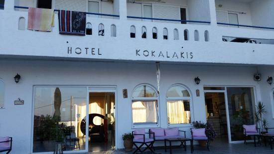 Kokalakis Beach Hotel: Ingresso
