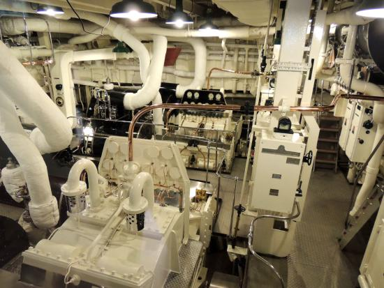 Royal Yacht Britannia: Engine Room