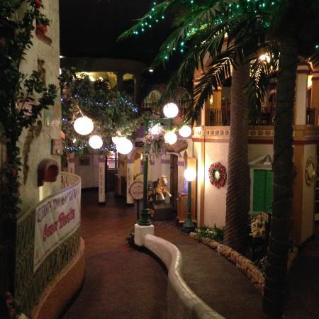 Casa Bonita Inside Walkway