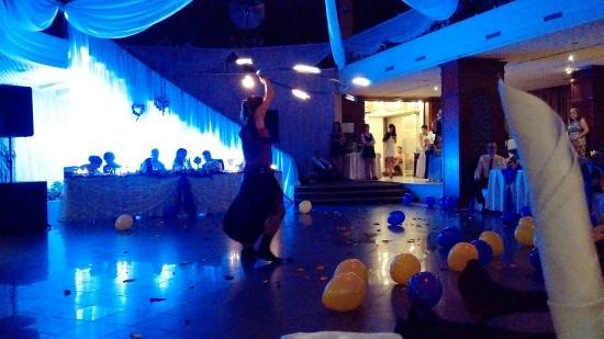 Wedding ceremony and wedding party