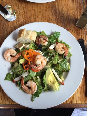 Blue Window: Zia Shrimp Salad