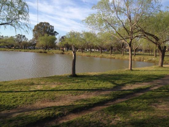 Trenque Lauquen, Argentinien: Lago del Parque municipal