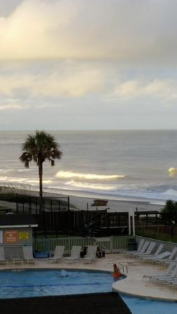 Myrtle Beach Resort From Balcony At 306