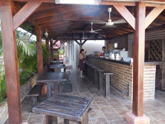 Casa Obrapia: Terraza en el Desayuno