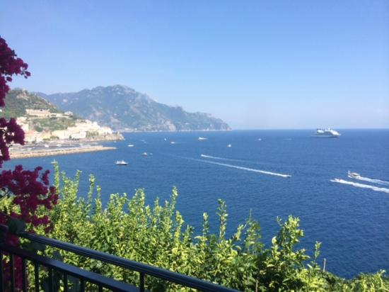 Santa Caterina Hotel: View from our Room #74