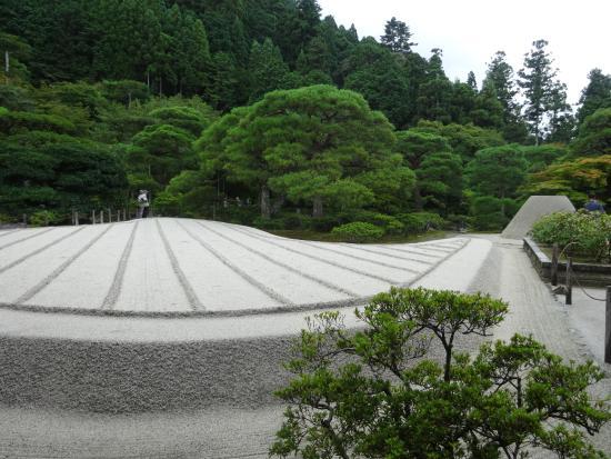 ginkaku ji temple jardin sec - Jardin Sec