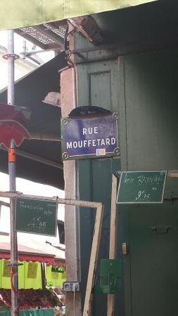 Paris, Frankrike: Rue Mouffetard