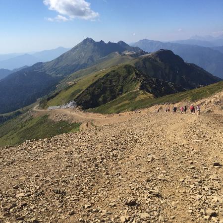 Esto-Sadok, Rusia: walk to the top