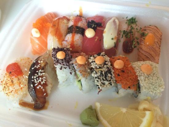 Bästa sushin jag ätit!
