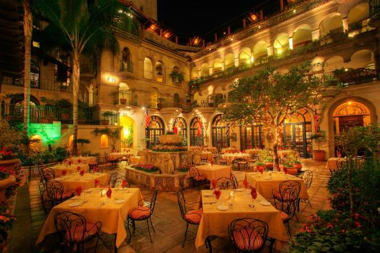 The Mission Inn Hotel And Spa Spanish Patio At