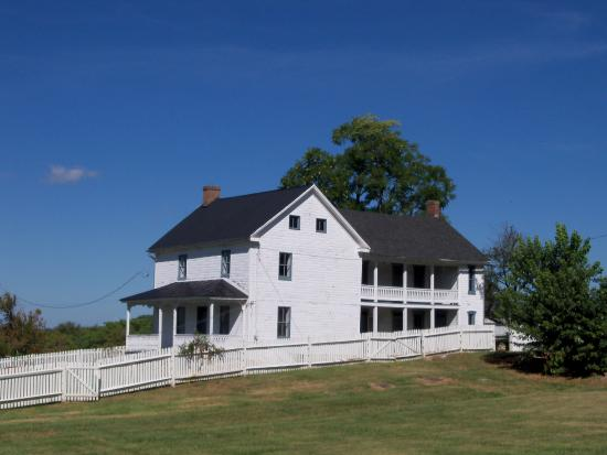 Sharpsburg, MD: Poffenberger farmhouse