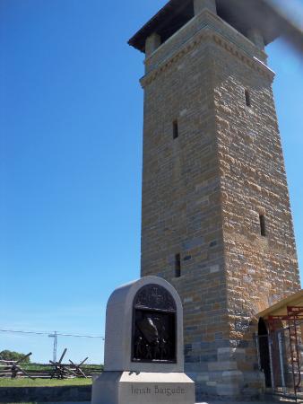 Sharpsburg, Μέριλαντ: observation tower sunken  road