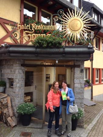 Hotel-Restaurant Sonne : Sunny Sunday afternoon in Sankt Peter