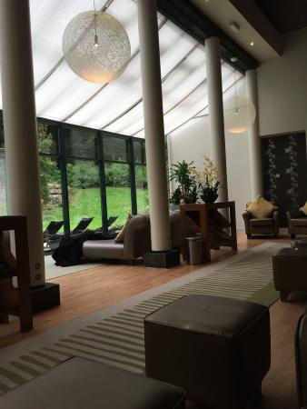 Aqua Sana Longleat Forest Spa Area And Reception Product Shelves The Relaxation