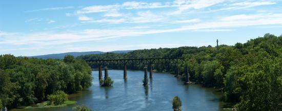 Sharpsburg, MD: WV side downstream