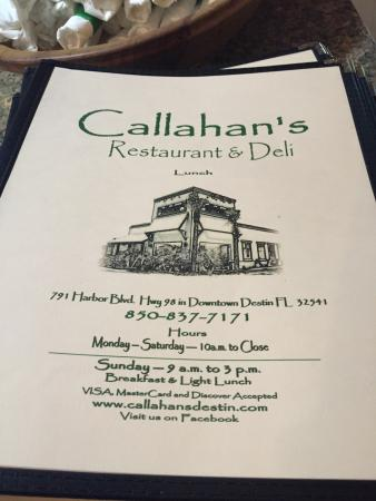 Callahan's Restaurant & Deli: photo1.jpg