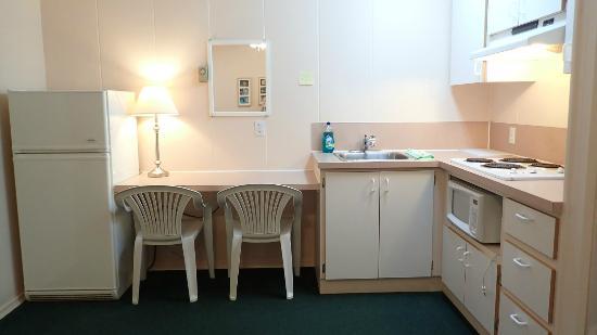 Salmo, Kanada: one bedroom kitchen