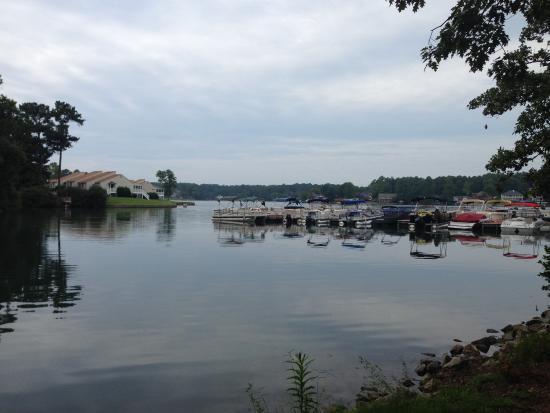 Fairfield Plantation: Owner's boat dock
