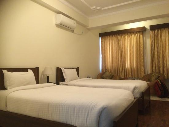 Rooms in Hotel Holy Himalaya