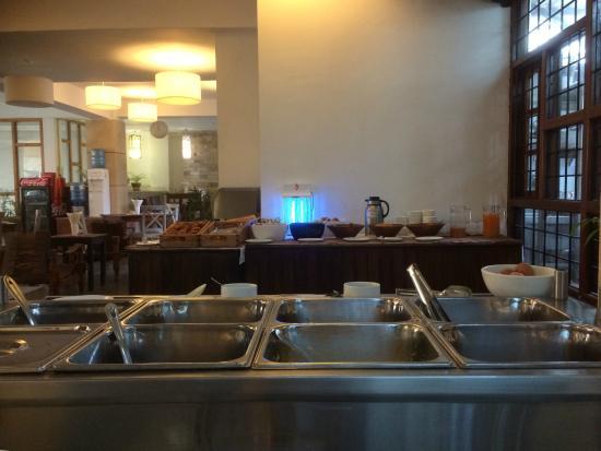 Breakfast at Hotel Holy Himalaya