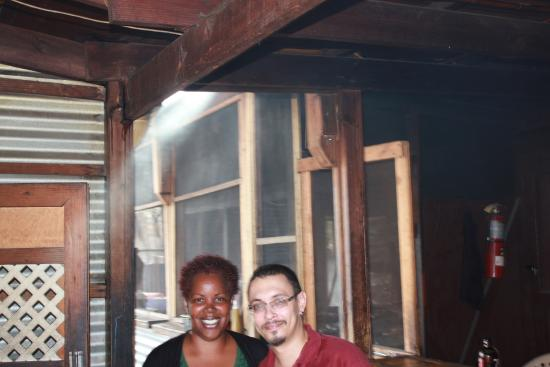 Sweetwood Jerk Joint: Frankie the owner