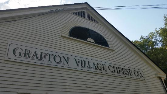 Grafton Village Cheese : Cheese Factory and shop at Grafton