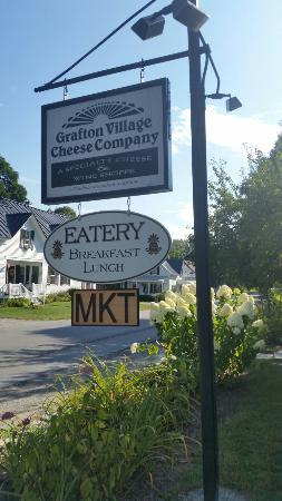 Cheese Factory and shop at Grafton