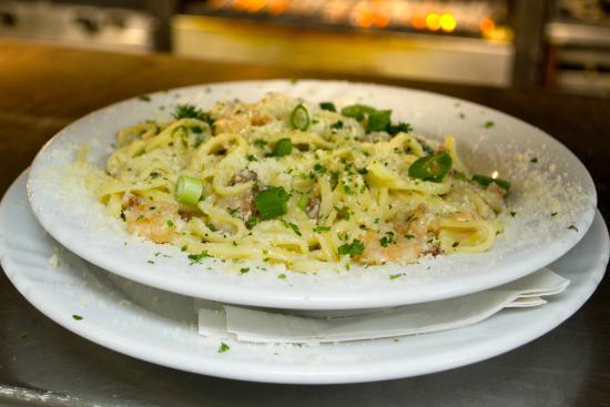 Louisiana Lagnie Restaurant Shrimp And Andouille Pasta