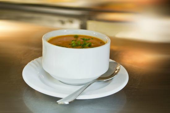 Louisiana Lagniappe Restaurant: Roasted Red Pepper Soup