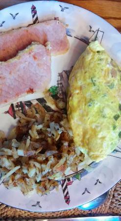 Knoll Farm Bed & Breakfast: Moe's famous omelette