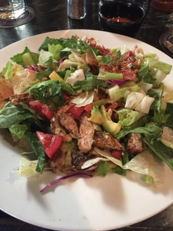 Grilled Chicken Salad Picture Of Blackstone Restaurant Brewery