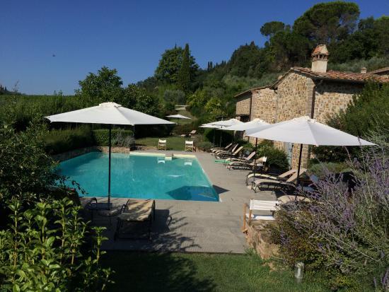 Agriturismo Guardastelle: Beautiful swimming pool in paradise