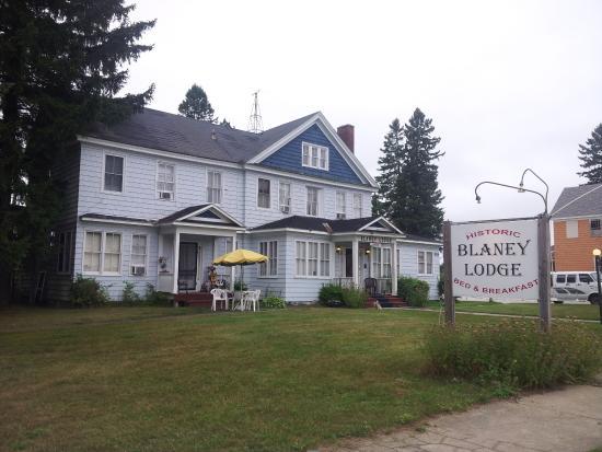 Germfask, MI: The Lodge - Exterior