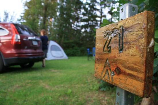Cymbria Tent & Trailer Park: Sleeping under the stars in PEI