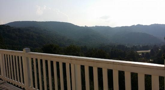 The Inn at Elk River: View from the third-floor deck