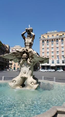 The Hotel Bernini Bristol on Piazza Barberini - Picture of Sina ...