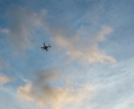 Pantai Lima Villas: drone doings its job !