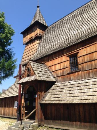 Lipnica Murowana, Poland: 世界遺産木造教会群