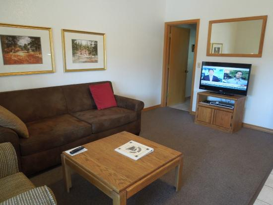 Roundhouse Resort: Big screen television