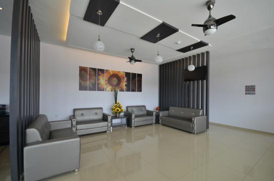 Lobby in AST Hotel