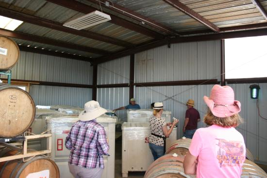 Willcox, AZ: Wine being made