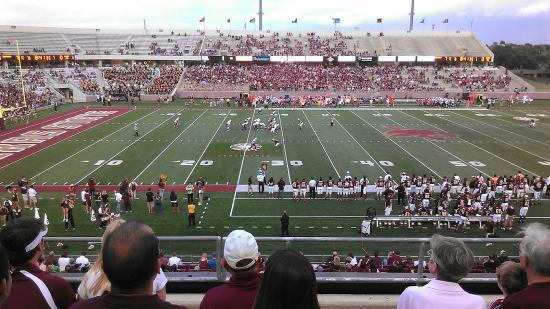 ‪Texas State University Bobcat Stadium‬