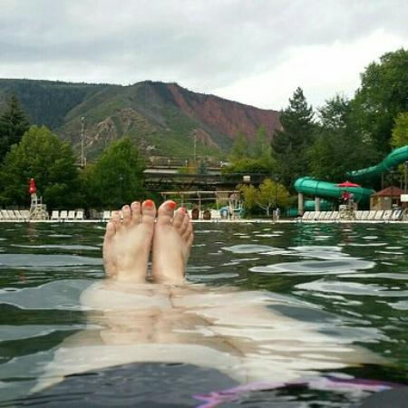 Glenwood Hot Springs Resort: Ahhhh!