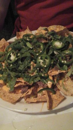 Hiawatha Restaurant & Lounge : Brisket nachos
