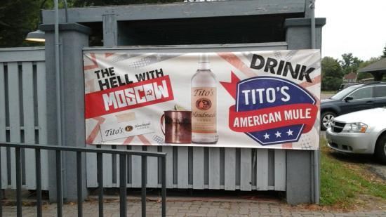 Hiawatha Restaurant & Lounge : American  mule!