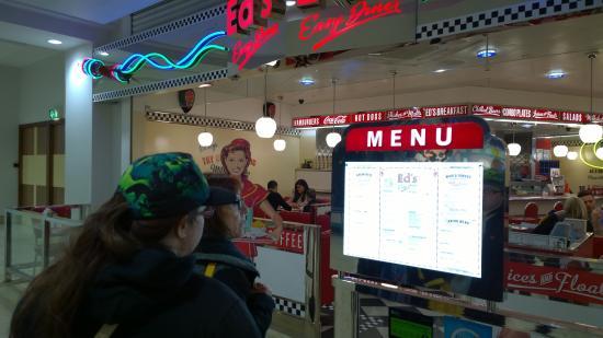 Ed's Easy Diner - Leicester: Outside