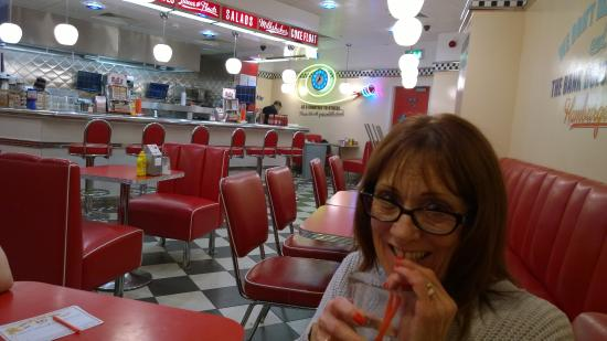 Ed's Easy Diner - Leicester: American styling for interior