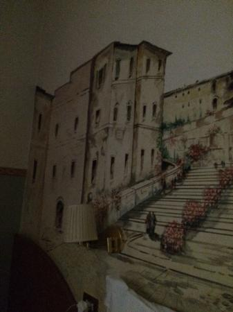 Hotel Washington: wall mural